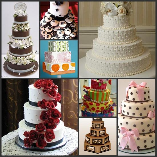 Whether your wedding cake has flowers, layers, polka dots, bows, or is a traditional wedding cake wi