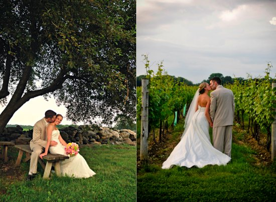 photo of Featured Wedding: A Winery Wedding
