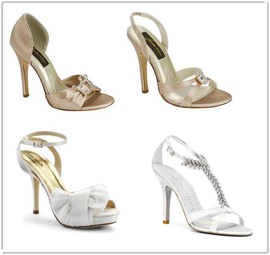 No matter what type of bride you are, OneWed's shop has the perfect bridal shoe for you!