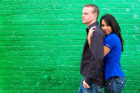photo of Featured Engagement Session: Erica and Michael