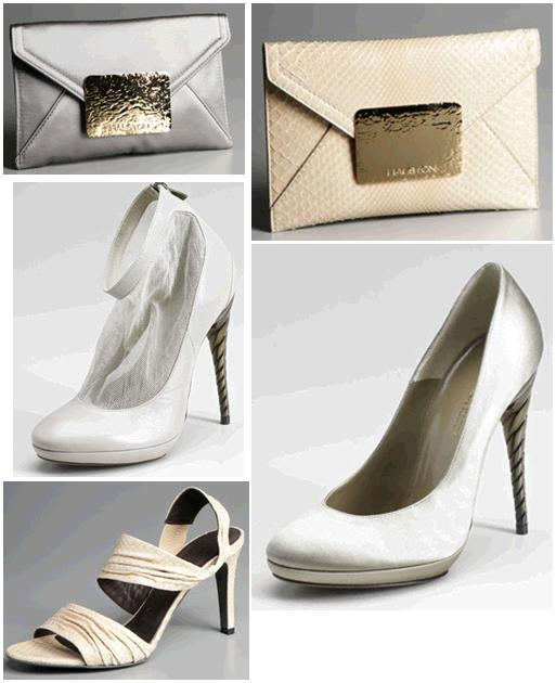 Gilt.com bridal clutches and shoes