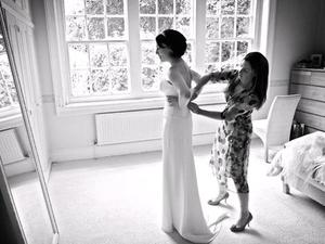 photo of Bubbly Bride: The Final Wedding Dress Fitting