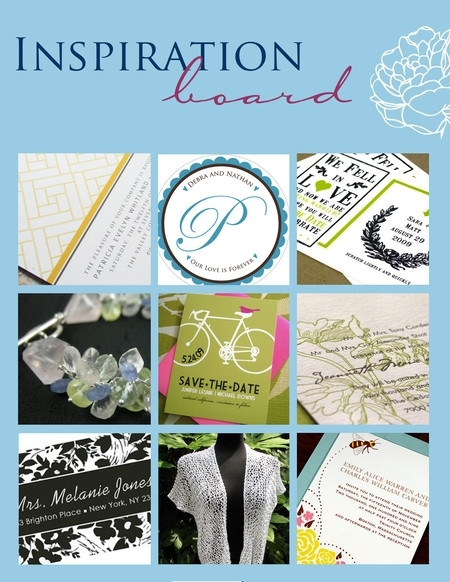 Ever-after-bridal-market-on-the-patio-green-white-black-floral-nature-inspired-monogram-letterpress-wedding-invitations.full