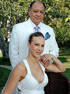 photo of Cheech Marin's Beautiful Bride Wore Amy Michelson
