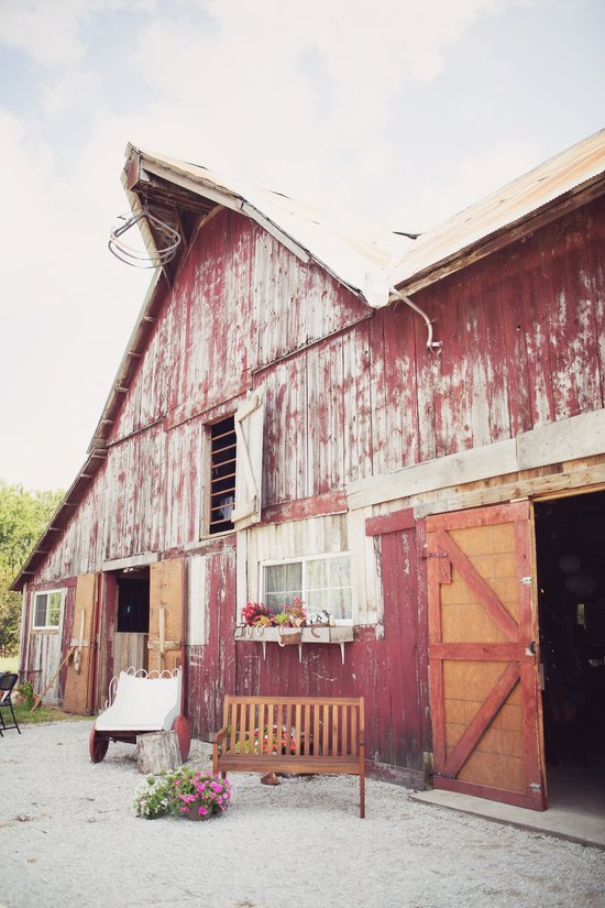 North side of the Wedding Barn/Events Center at Civil War Ranch. Photo by Sweet Tea Photography