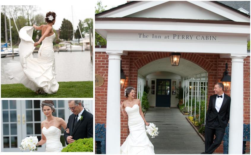 Lovett-bride-white-strapless-wedding-dress-flows-in-wind-bride-groom-outside-reception-venue.full