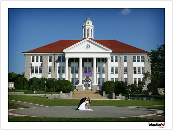 Jeff-haden-photographer-ask-the-experts-permit-at-public-park-bride-groom-dip-and-kiss-outside-beautiful-university-building.full
