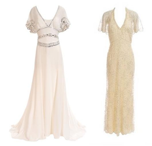 Temperly ivory and off white bias cut classic simple for Simple off white wedding dresses