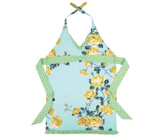 Thank-you-gifts-for-bridesmaids-aprons-from-merrymartini-light-blue-teal-aqua-white-creamy-gold-rose-print.full