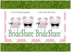 photo of Save Some Green On Your Wedding While Being Green With Bride$hare!