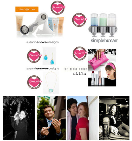 onewed wedding preparty twitter launch party prizes and wedding experts