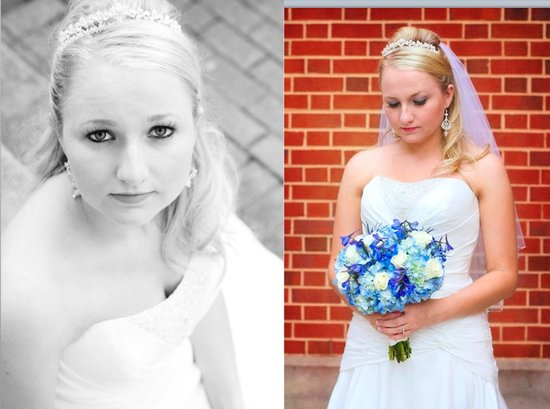 photo of Featured Wedding: Touches of Something Blue