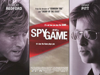 The movie Spy Game starring Brad Pitt and Robert Redford may be the key to your happiness.