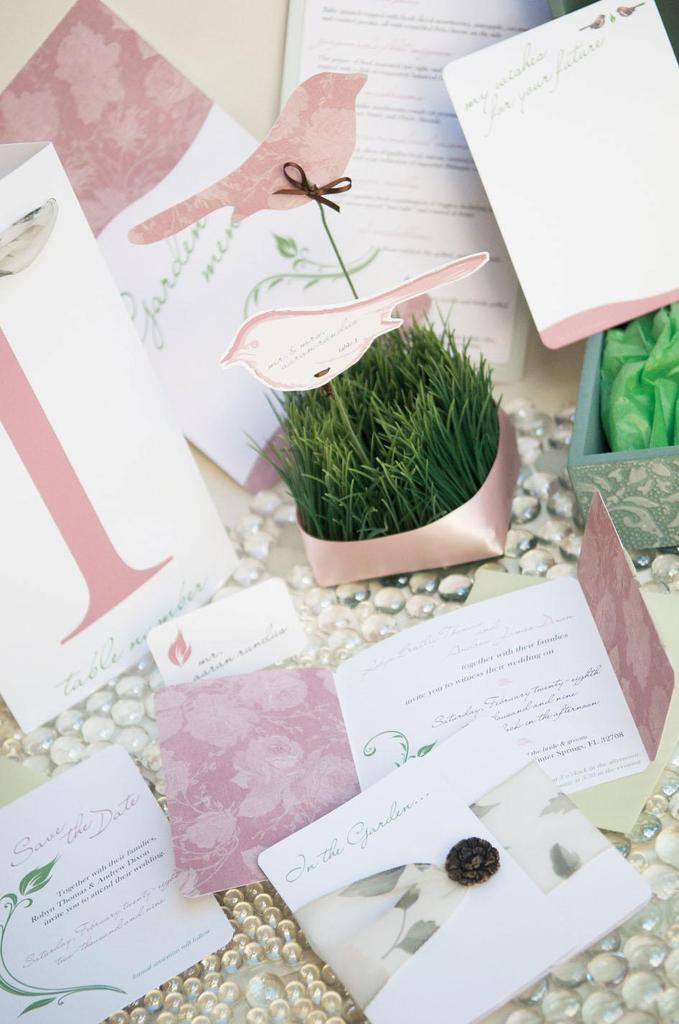 photo of The 2u Collection Creates Gorgeous Wedding Stationery, And Any Printed Item, For Your Wedding!