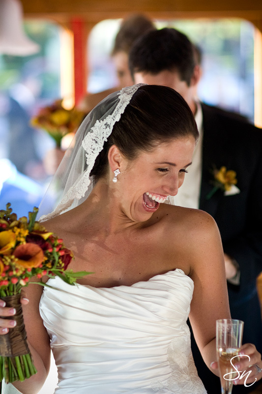 photo of Laughter is the Best Wedding Planning Tool