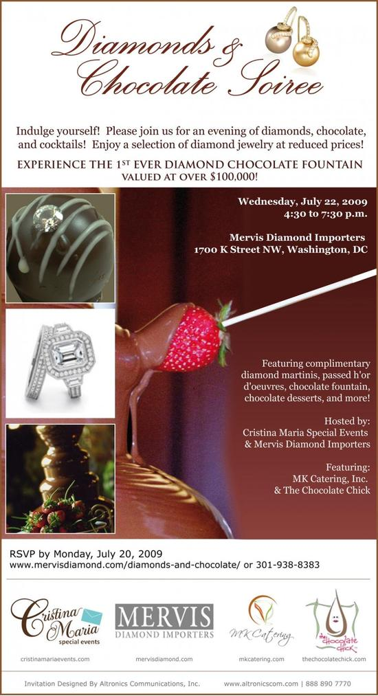 photo of What's Better Than Diamonds And Chocolate?  A Decadent Bridal Event!