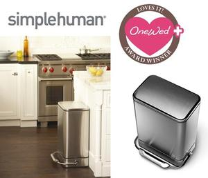 photo of Savvy Steals Weekly Giveaway- A simplehuman Product For Your New Home As Mr. And Mrs.!
