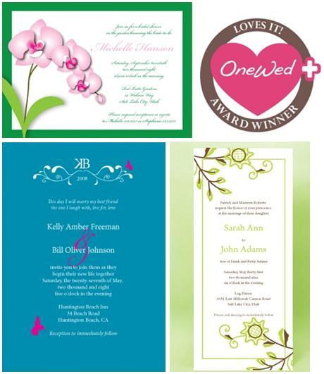 OneWed loves Urbanity wedding invitations and stationery, and so does Oprah!