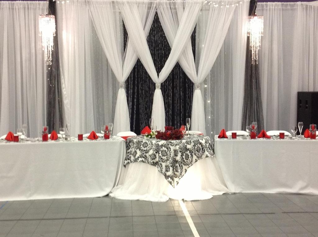 Az Wedding Decor Backdrop Black White And Red