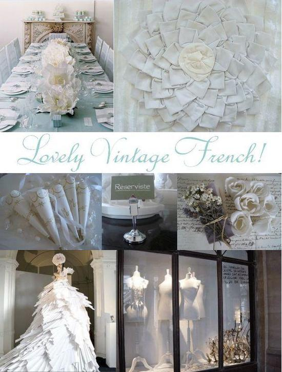 photo of Vintage French Loveliness for your wedding