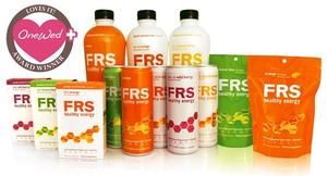 photo of OneWed loves FRS healthy energy products for a perfect wedding day body!