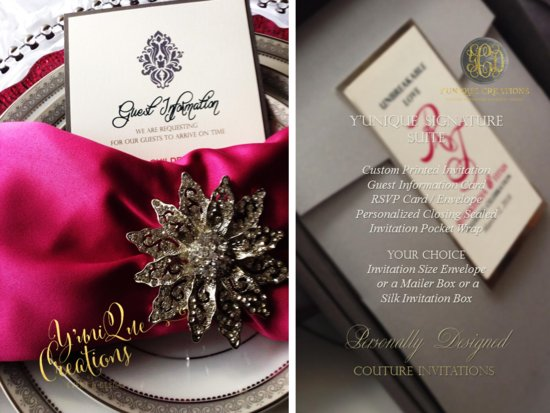 Y'UniQue Creations | Couture Wedding Invitations and Event Design