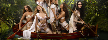 photo of agent provocateur bridal lingerie