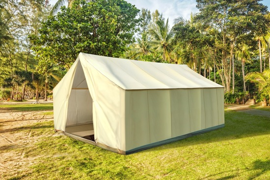 Our Garden Safari Tent™ is perfect for entertaining