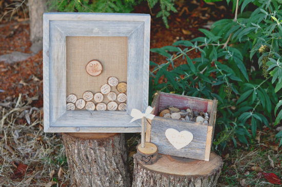 Rustic Wedding Guestbook Alternative