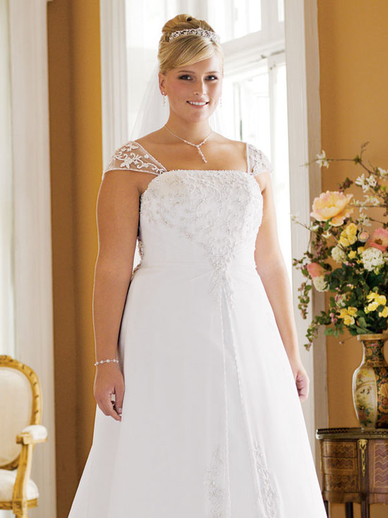 photo of David's Bridal Woman 9V9010 Dress