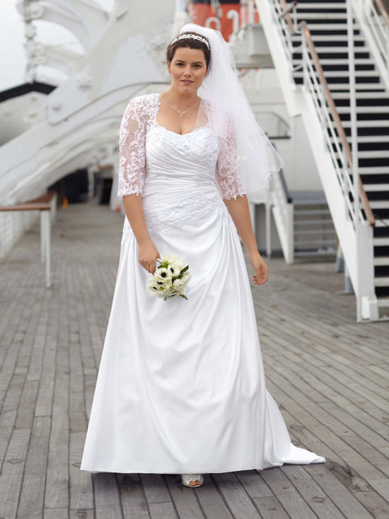 photo of David's Bridal Woman 9WG3249 Dress