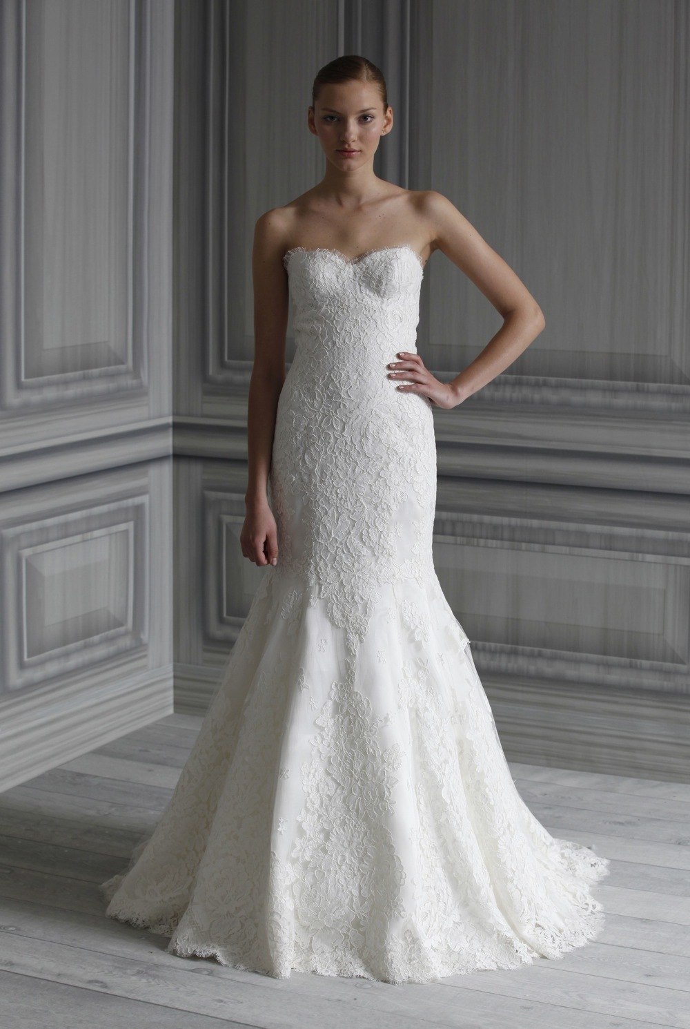 Monique Lhuillier Wedding Dress Favorites\' Ideabook by OneWedStyle ...