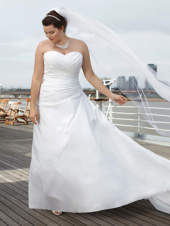 photo of David's Bridal Woman 9WG3243 Dress