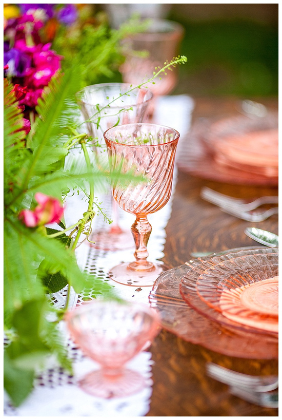 vintage china wedding