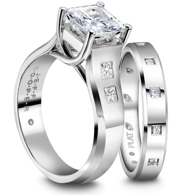 Jeff Cooper Engagement Ring 2964P
