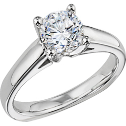 photo of Diana Solitaire Engagement Ring N104