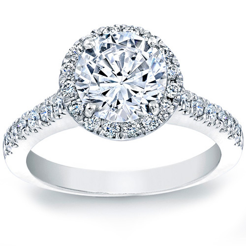 Pave Engagement Rings Collection
