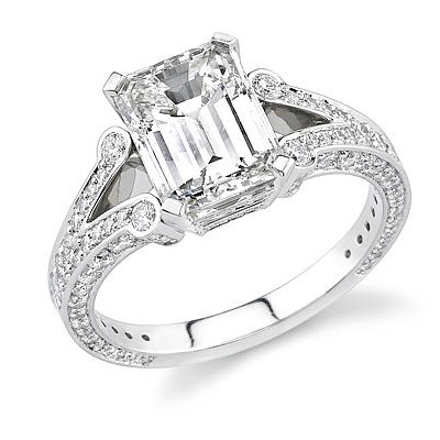 Stardust Engagement Ring N1609