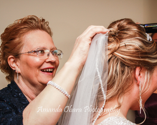 Mom Helping with Veil