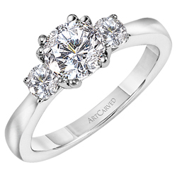 photo of ArtCared Engagement Ring 31V219ER