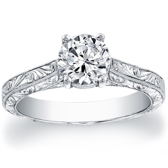 photo of Martin Flyer Engagement Ring 5137ESOL
