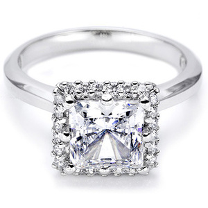 photo of Tacori Pave Engagement Ring 2502PR