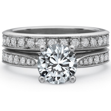 Precision Set Engagement Ring 7710