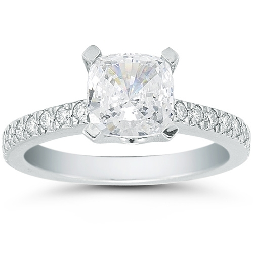 photo of Vatche Pave Diamond Engagement Ring Setting