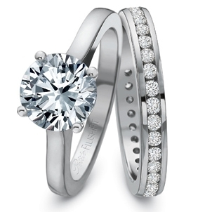 Precision Set Solitaire Engagement Ring