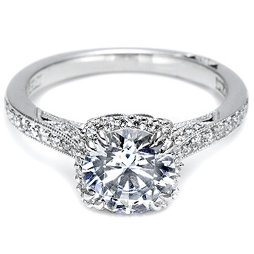 photo of Tacori Pave Engagement Ring 2620RDP