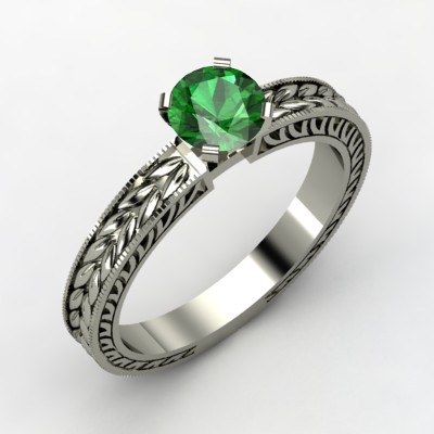 photo of Charlotte Engagement Ring