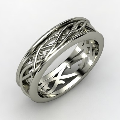 Vine-mens-wedding-band-white-gold-celtic-design.full