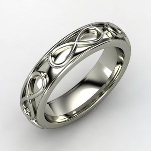 photo of Men's Infinity Wedding Band