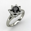 Lotus-engagement-ring-black-diamond-white-gold.square